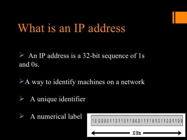 आईपी एड्रेस क्या होता है What is IP Address definition full form Internet Protocol